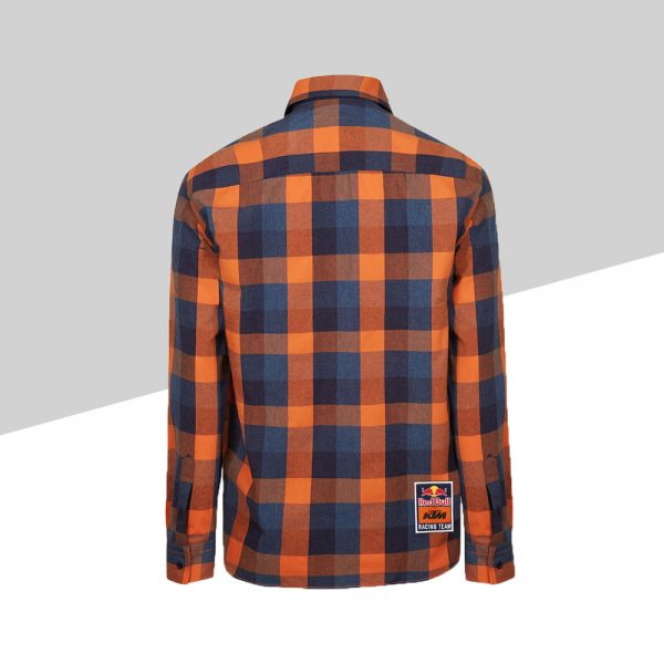 RB KTM Letra Checked Shirt retro | Giglioli Motori