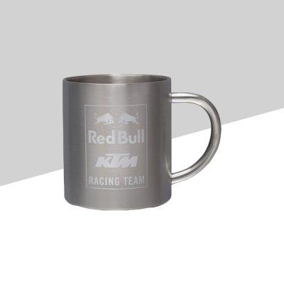 RB KTM Racing Team Steel Mug fronte | Giglioli Motori