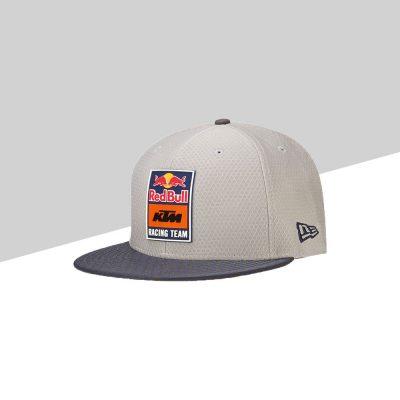 RB KTM Hex Era Flatcap Grey fronte | Giglioli Motori