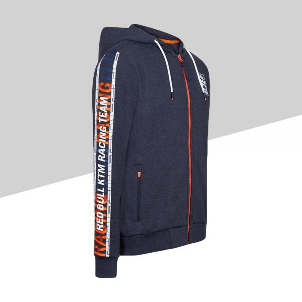RB KTM Letra Zip Hoodie profilo | Giglioli Motori