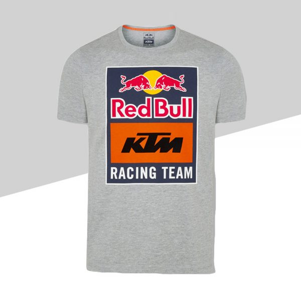 RB KTM Emblem Tee Grey fronte   Giglioli Motori