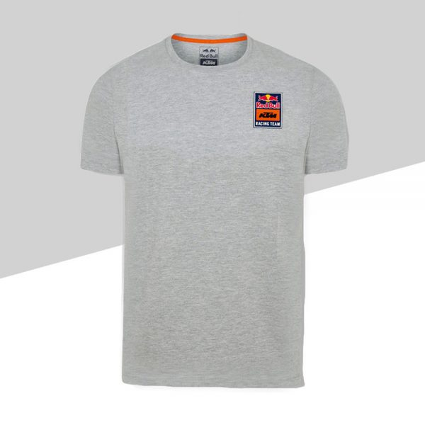 RB KTM Patch Tee Grey fronte | Giglioli Motori