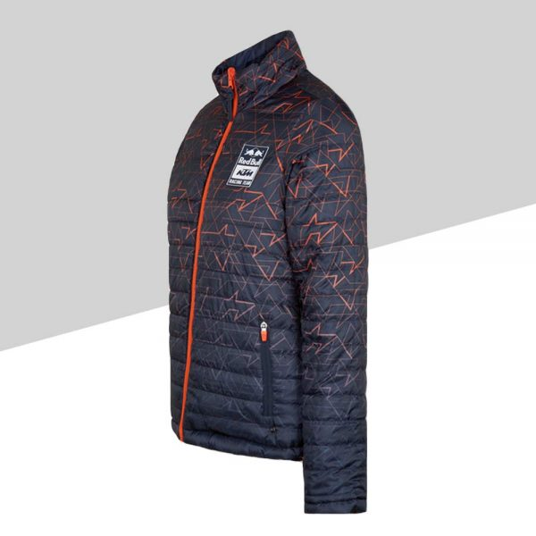 Women RB KTM Letra Reversible Jacket profilo sinistro mosaico | Giglioli Motori