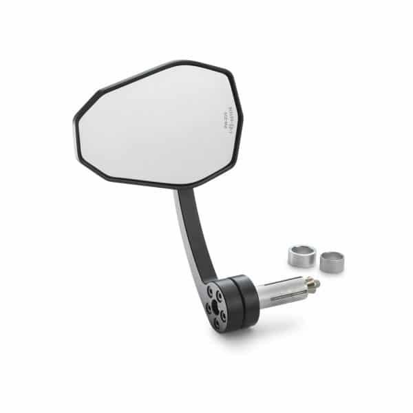Tampone salva manopole con specchietto retrovisore fronte | Giglioli Motori