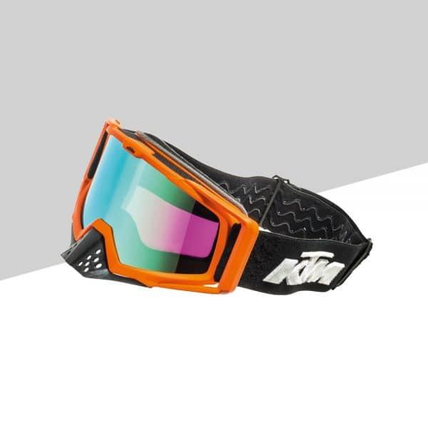 Racing Goggles fronte nero   Giglioli Motori