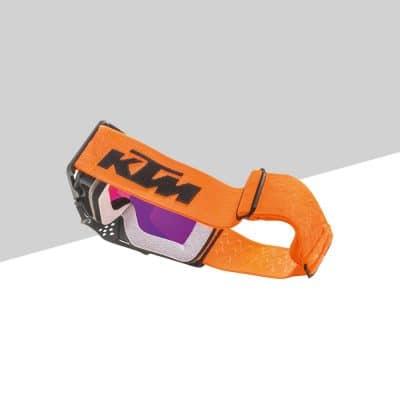 Racing Goggles retro arancione | Giglioli Motori
