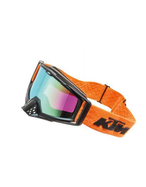 Racing Goggles bianco arancione   Giglioli Motori