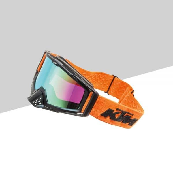 Racing Goggles fronte arancione   Giglioli Motori