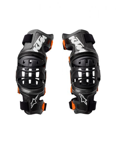 Bionic 10 Knee Brace fronte bianco | Giglioli Motori