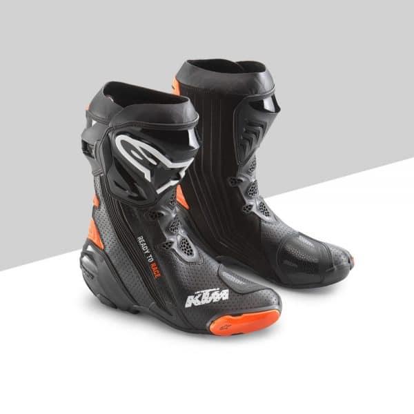 Supertech R Boots Blackorange fronte | Giglioli Motori