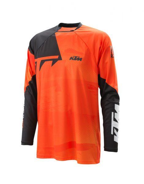 Pounce Shirt Orange bianco | Giglioli Motori