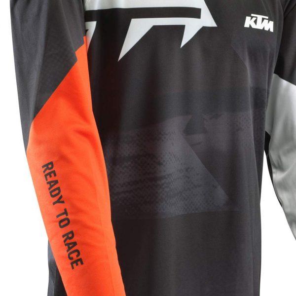 Pounce Shirt Black dettaglio | Giglioli Motori