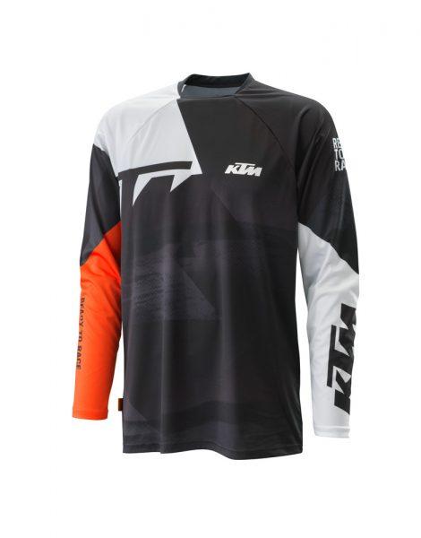 Pounce Shirt Black bianco | Giglioli Motori