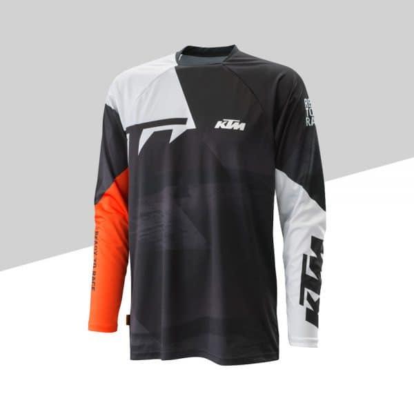 Pounce Shirt Black fronte | Giglioli Motori