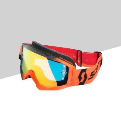 Hustle MX Goggles fronte | Giglioli Motori