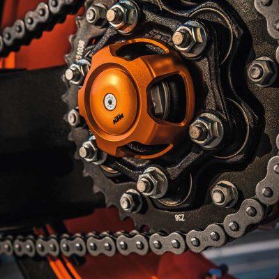 Copertura dado dell'asse ruota posteriore applicazione | Giglioli Motori