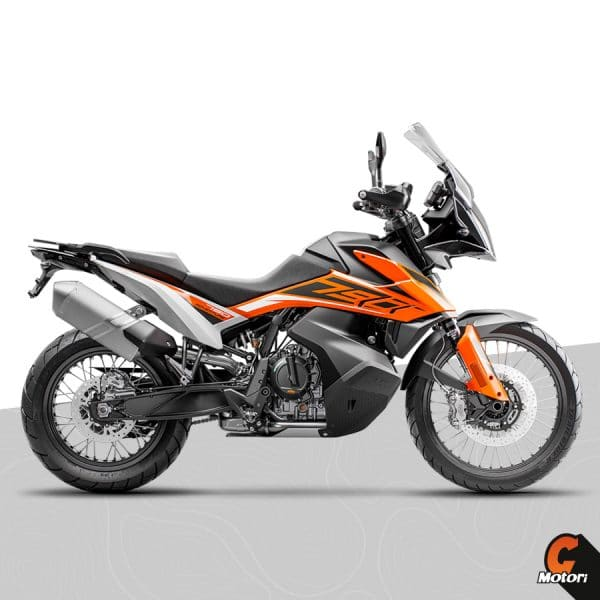 790 adventure 2020 orange