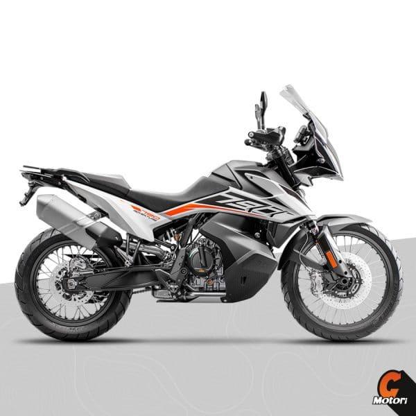 790 adventure 2020 white