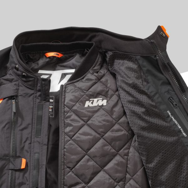 3PW21000610X TERRA ADVENTURE JACKET  Detail Thermojacket mod