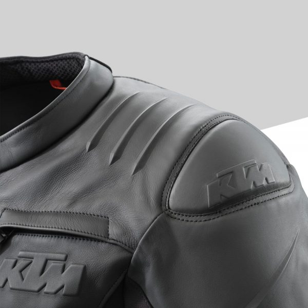 3PW21000670X RESONANCE LEATHER JACKET Detail Schulterpolster mod