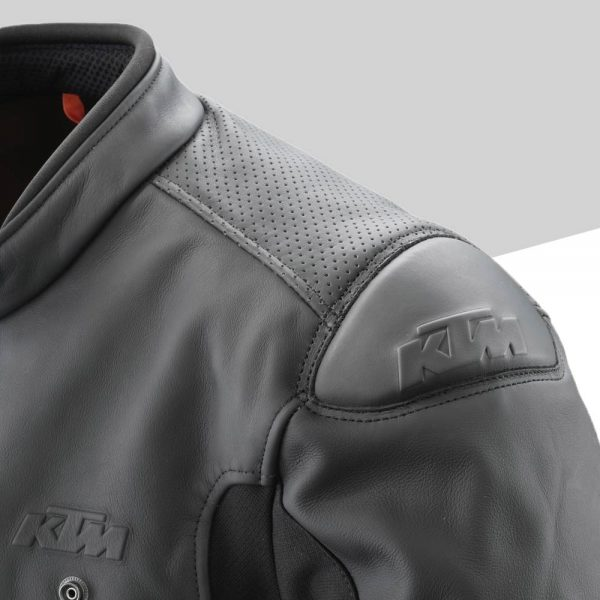 3PW21002520X Empirical Leather Jacket Detail Schulterpolster mod